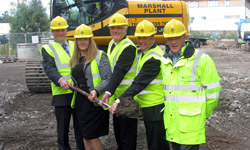 Sauchie sod-cutting